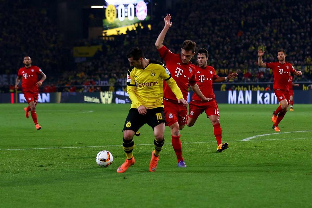 Borussia Dortmund y Bayern Munich han empatado a cero