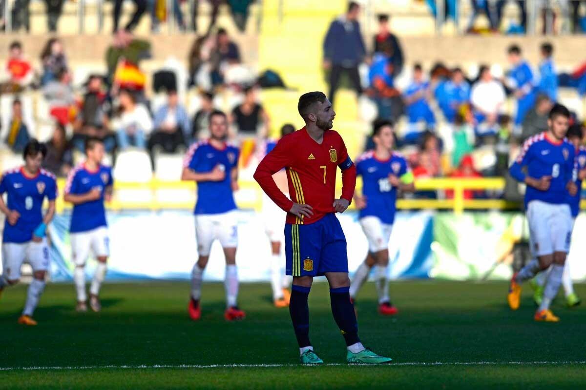España 0-3 Croacia
