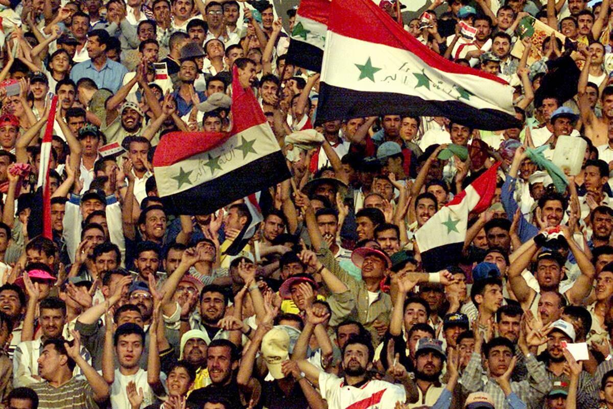 Atentado en un estadio de fútbol en Irak