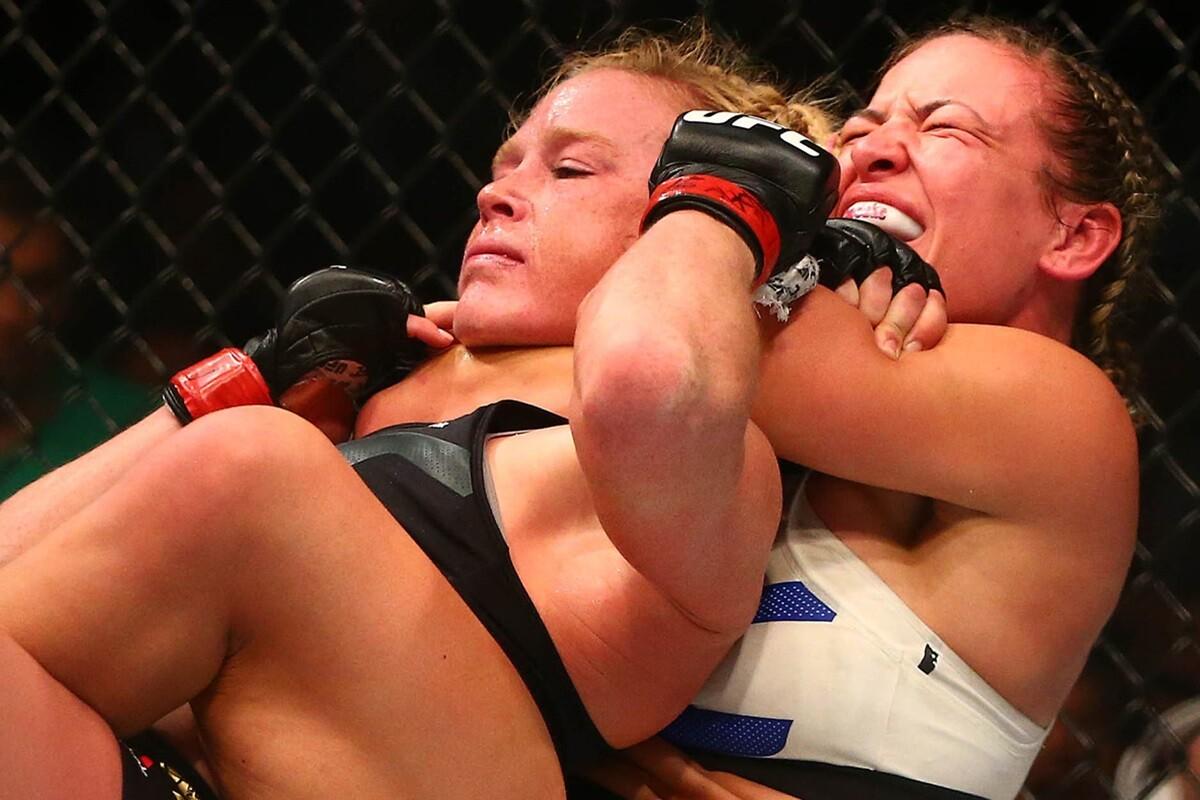 Holly Holm, su derrota en la UFC y como se enteró Ronda Rousey