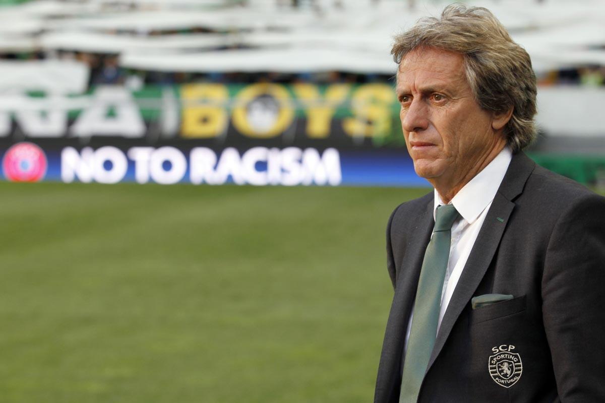 Jorge Jesus, técnico del Sporting de Portugal