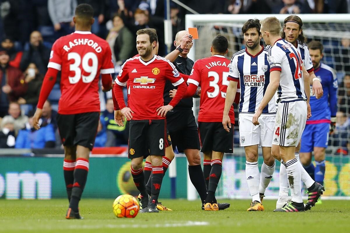Juan Mata, futbolista del Manchester United