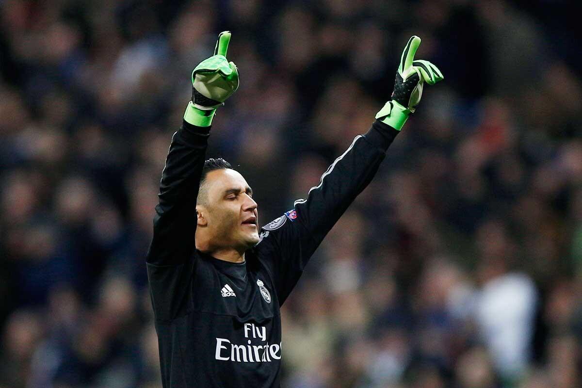 Keylor Navas, pieza clave en la temporada del Real Madrid