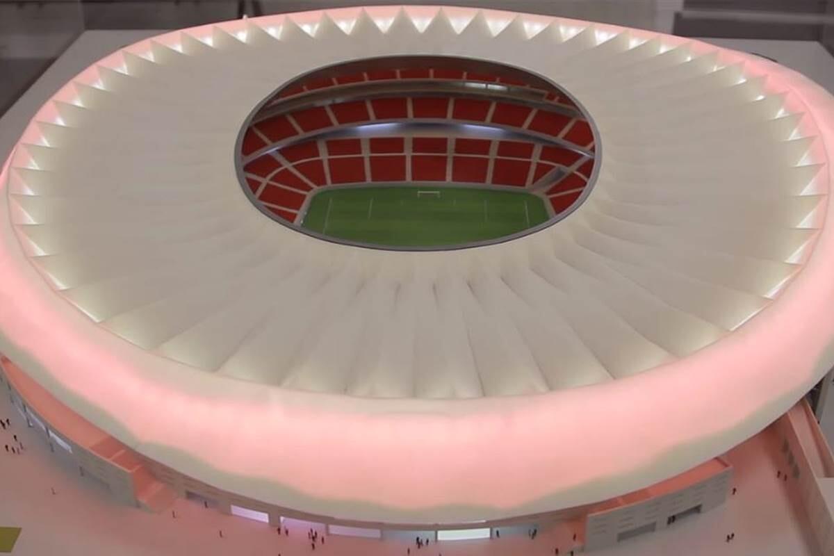 La peineta, nuevo estadio del Atlético de Madrid que será una olla a presión