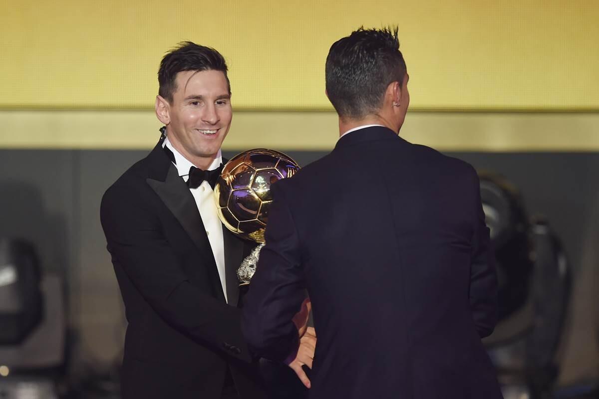 Messi Cristiano Valdano
