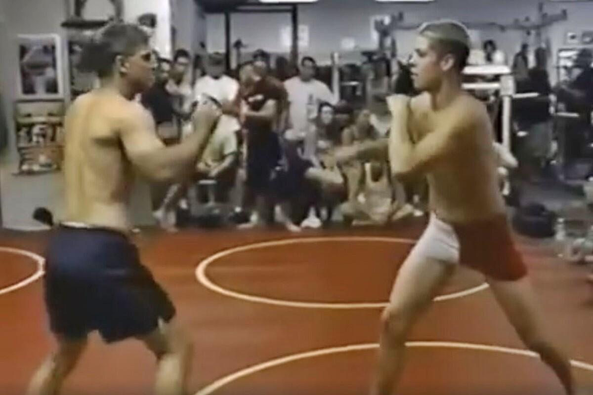 Nate Diaz pelea con 16 años contra Robert Limon