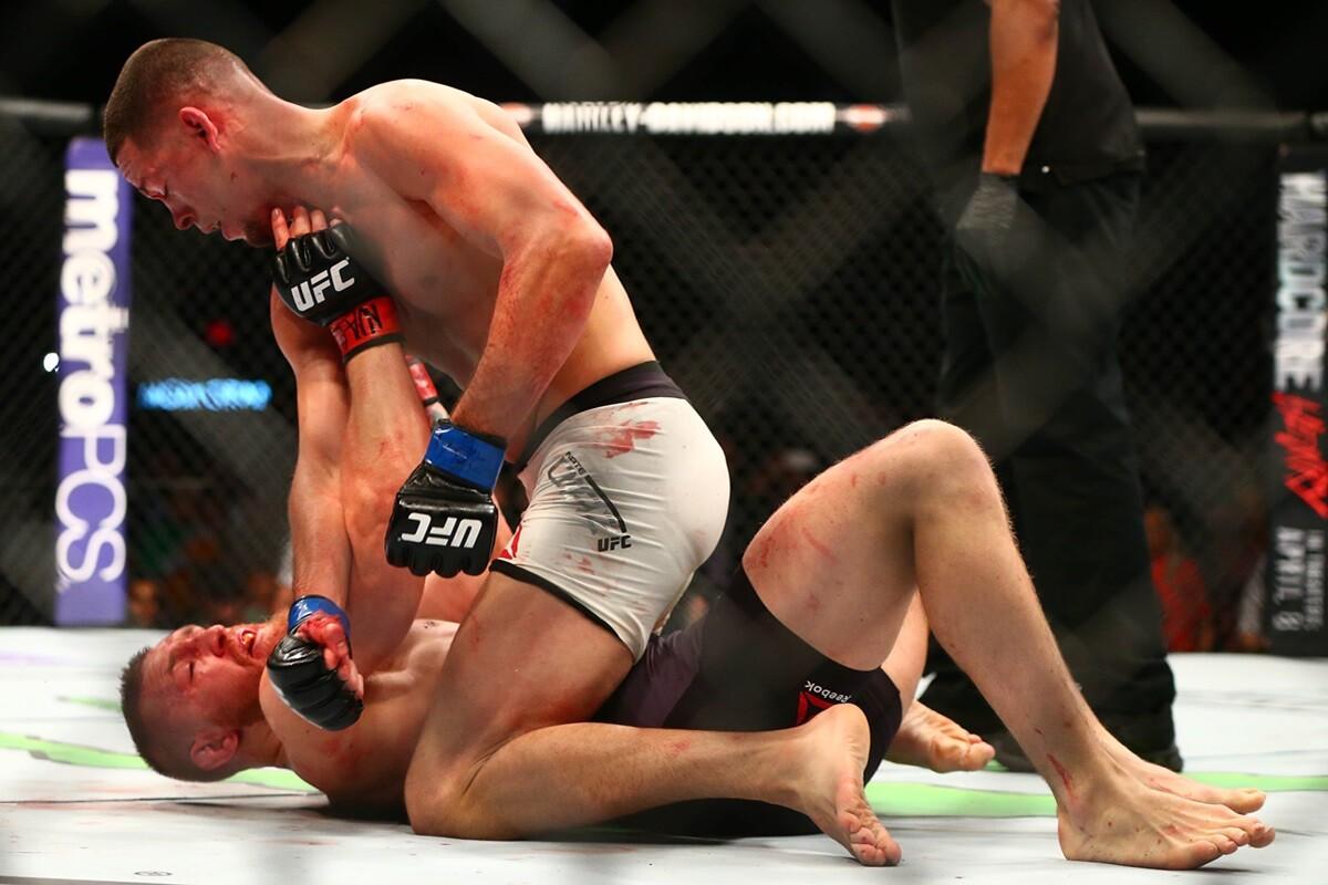 Nate Diaz gana a Conor McGregor en UFC en las Vegas