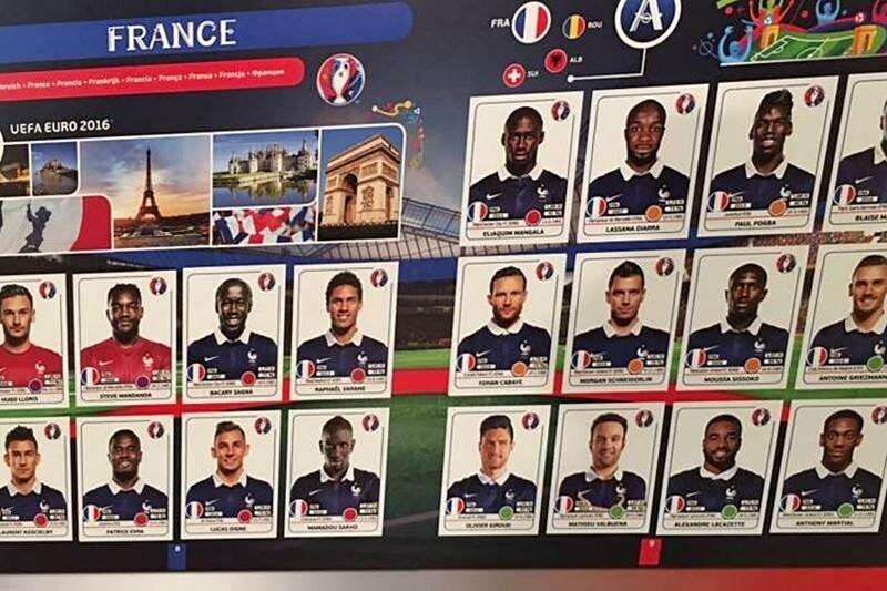Benzema no está en los cromos Panini de la Euro 2016 Francia