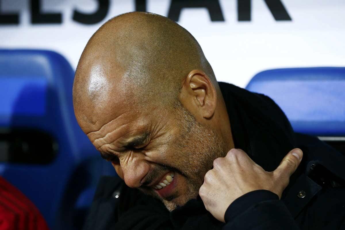 Pep Guardiola, técnico del Bayern Munich