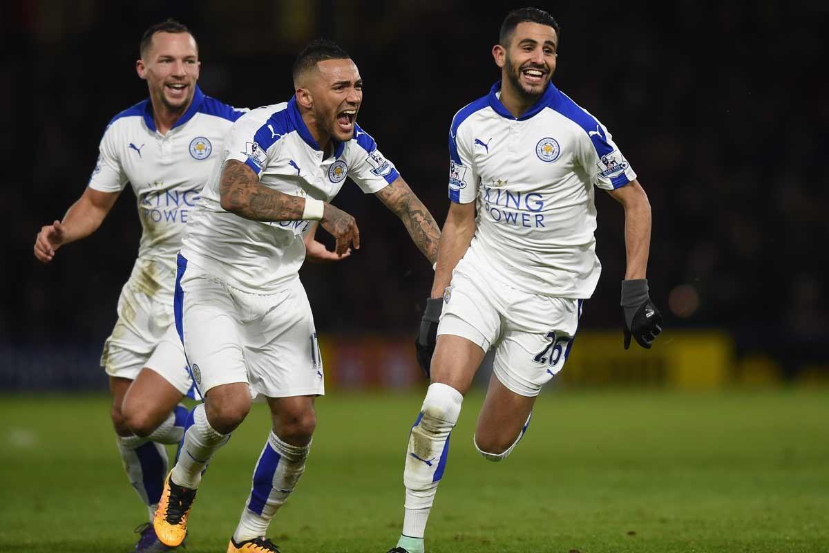 Riyad Mahrez, del Leicester City