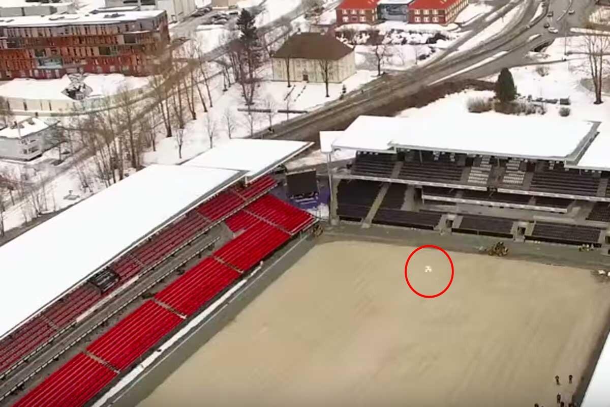 Los jugadores del Rosenborg marcan un gol de altura
