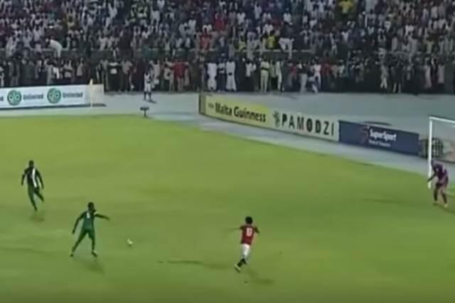 Mohammed Salah en el Nigeria Egipto