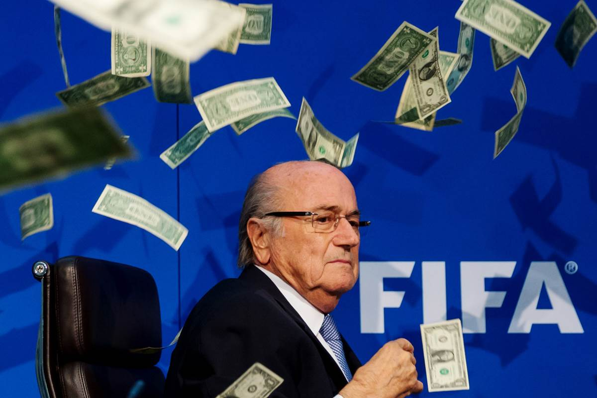 Sueldo de Sepp Blatter