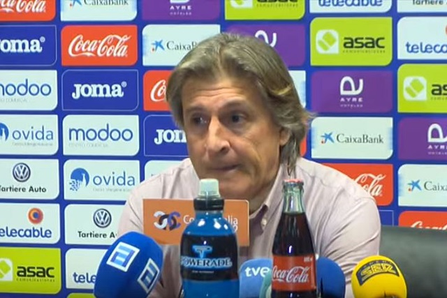 Sergio Egea dimite como entrenador del Real Oviedo