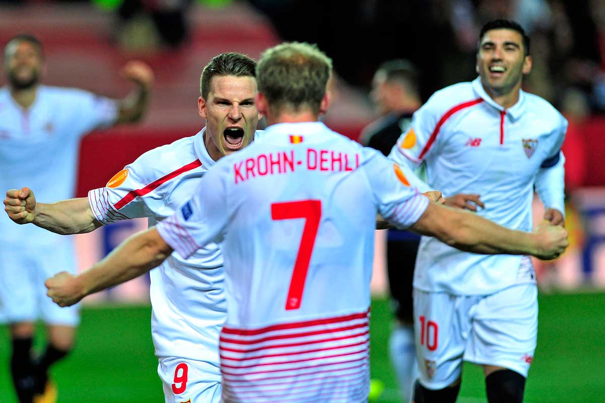 El Sevilla se mete en cuartos de final de la Europa League