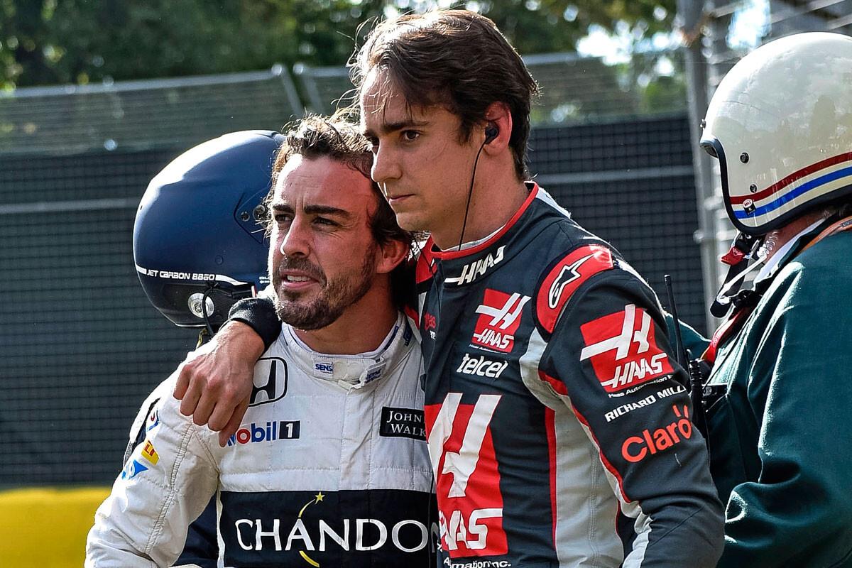 Fernando Alonso y Esteban Gutiérrez