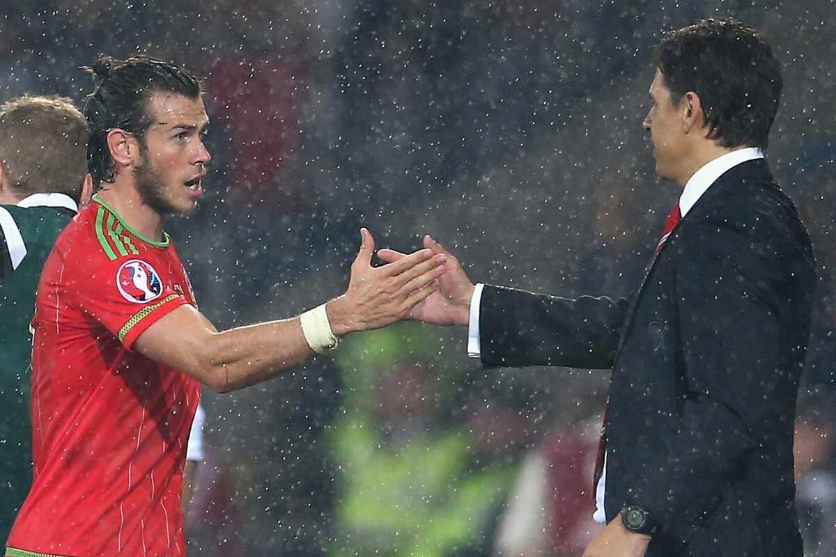 Gareth Bale y Coleman