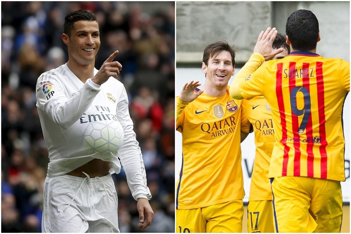 Clasificacion de la Bota de Oro, con Cristiano, Luis Suarez, Messi, Higuain...
