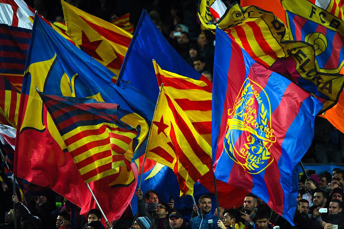 Aficionados del FC Barcelona