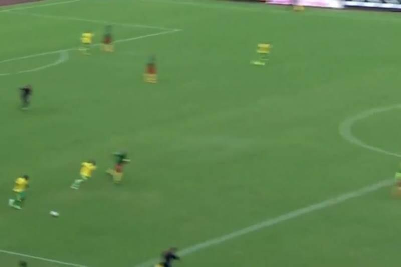 gol camerun sudafrica