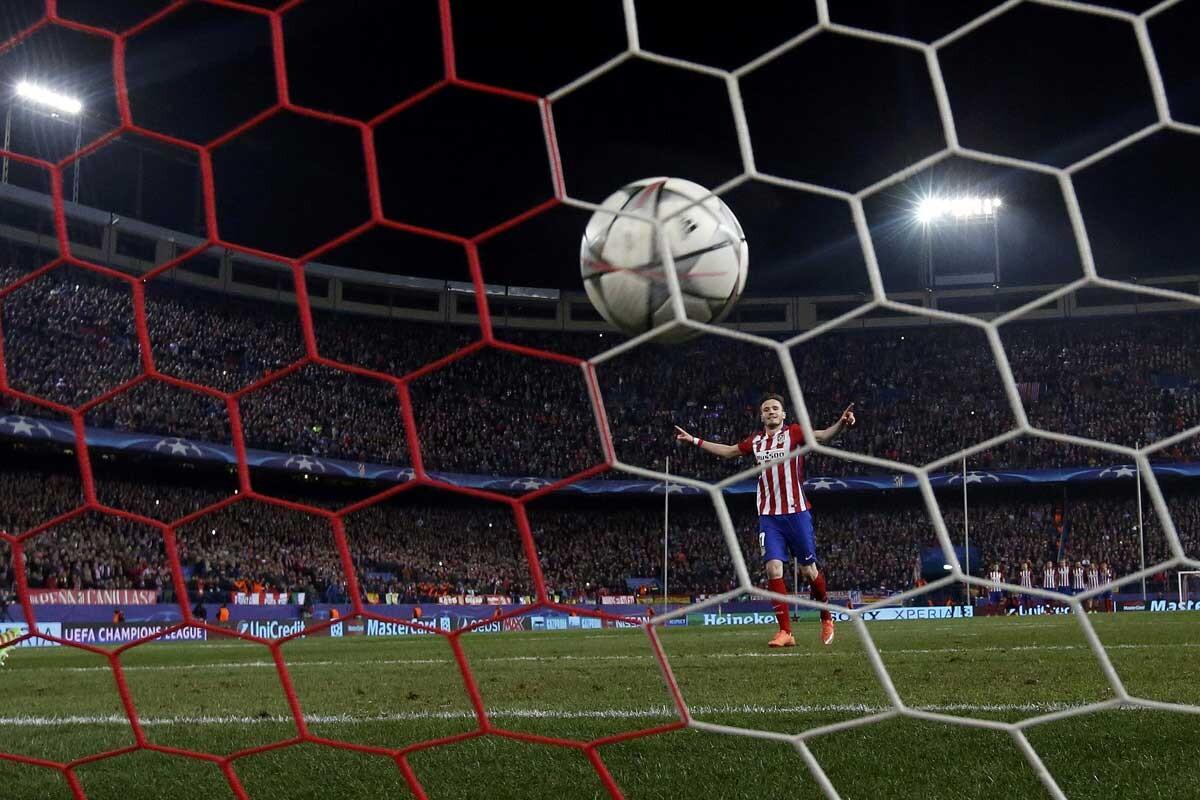 Champions League en el Vicente Calderón