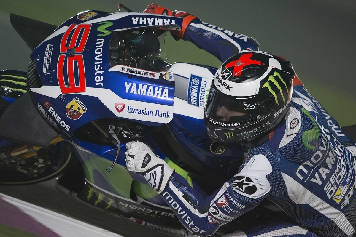 Jorge Lorenzo es un piloto de MotoGP
