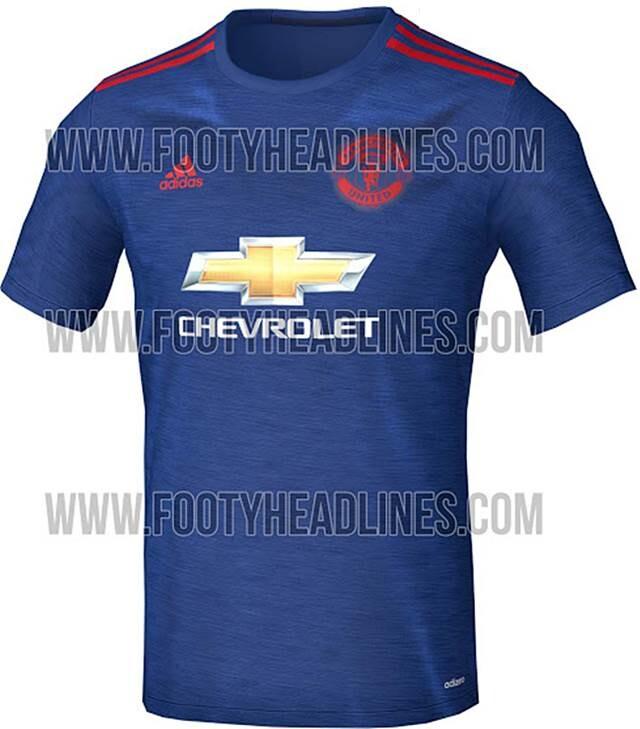 f45d1382c3edb Segunda equipación del Manchester United 2016-17 Adidas