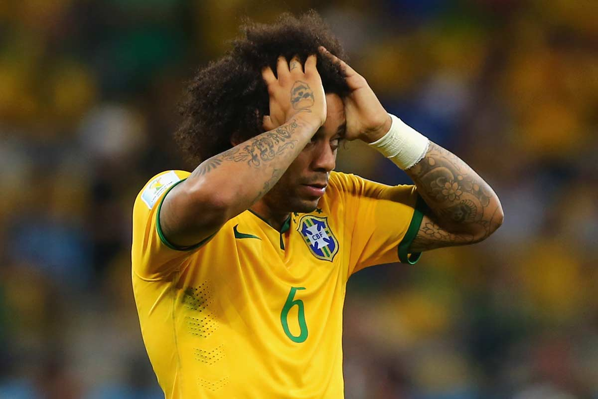 Dunga ataca a Marcelo