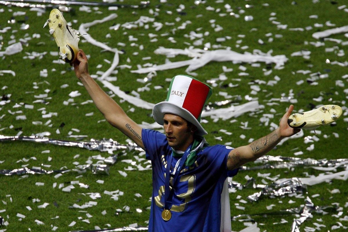 Marco Materrazi es un jugador italiano