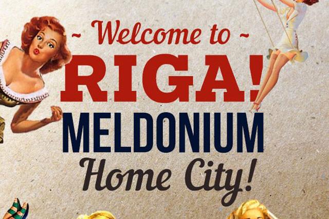 Meldonium, motivo de orgullo en Riga