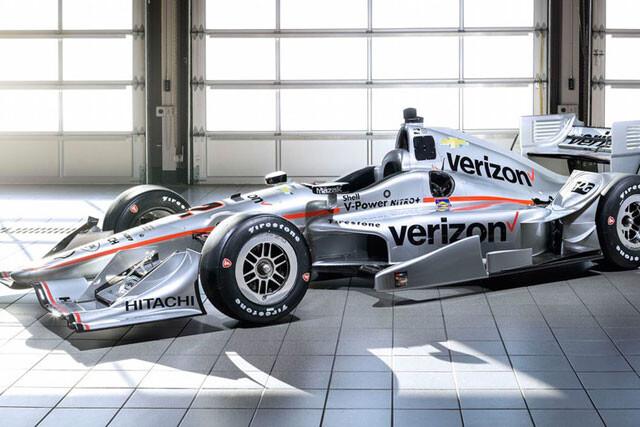 Coche de Juan Pablo Montoya para la Indy 2016