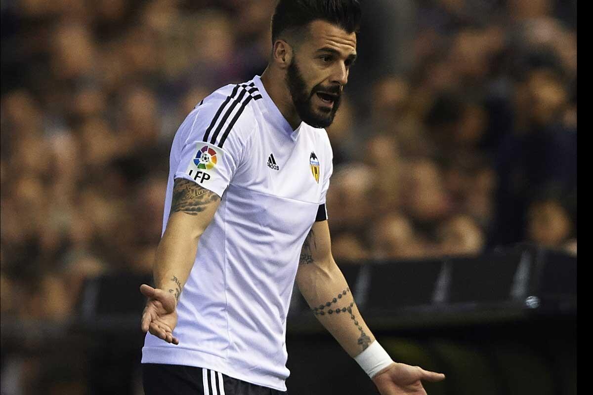 Negredo es jugador del Valencia