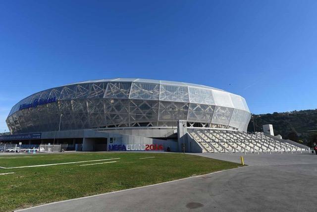 Sedes de la Eurocopa 2016 que se celebra en Francia