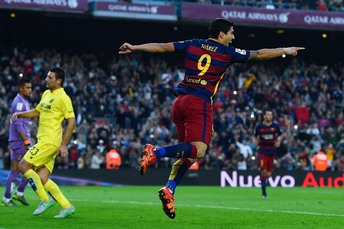 Luis Suárez, jugador del FC Barcelona
