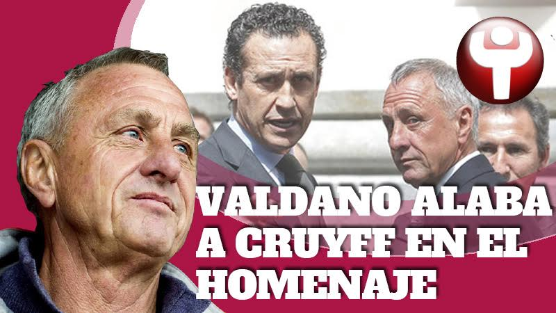 Valdano y Cruyff