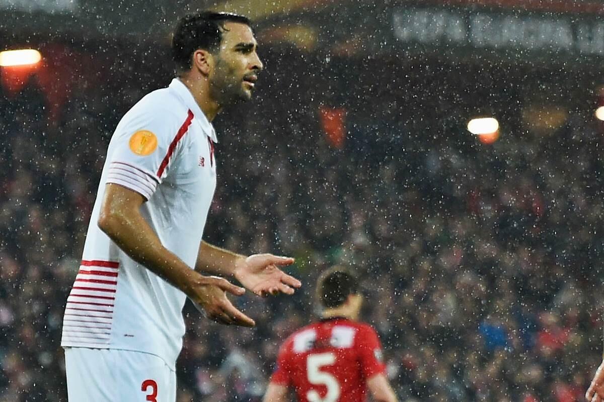 Adil Rami genera polemica con mensajes en Instagram contra el Bestis antes del derbi de Sevilla