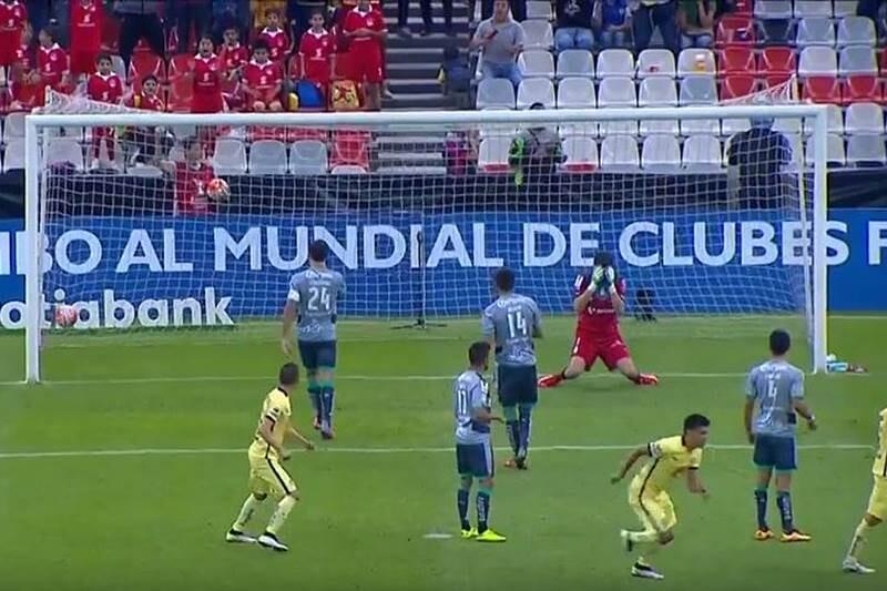 America gana a Santos en semifinal de Liga Concacaf