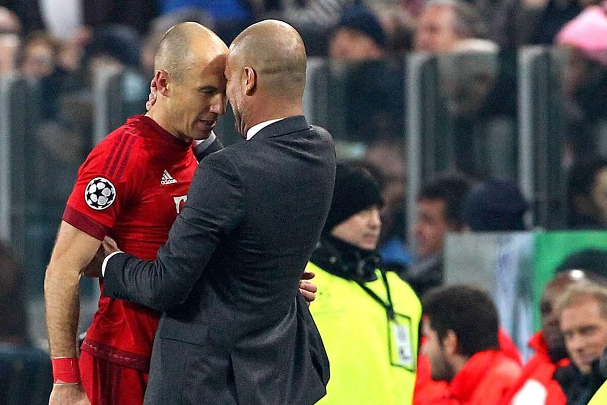 Arjen Robben habla de Pep Guardiola, Mourinho, Van Gaal