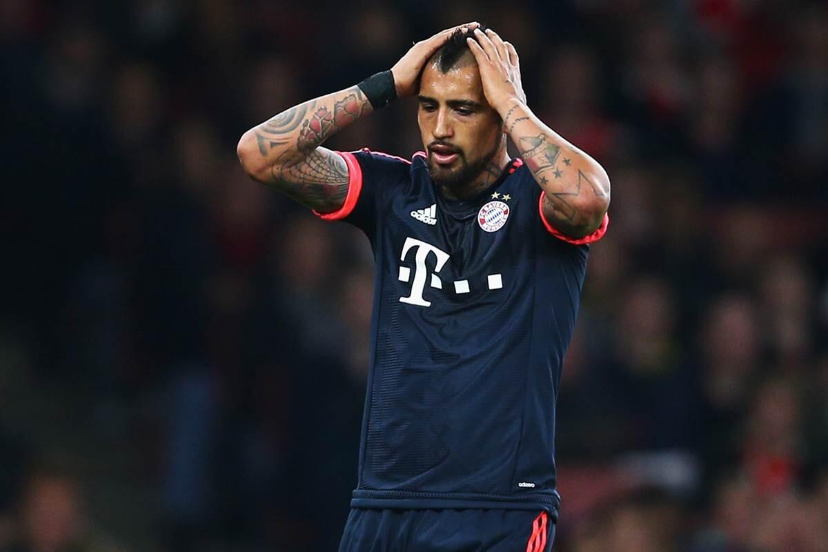 Arturo Vidal Atlético de Madrid: el rival más difícil