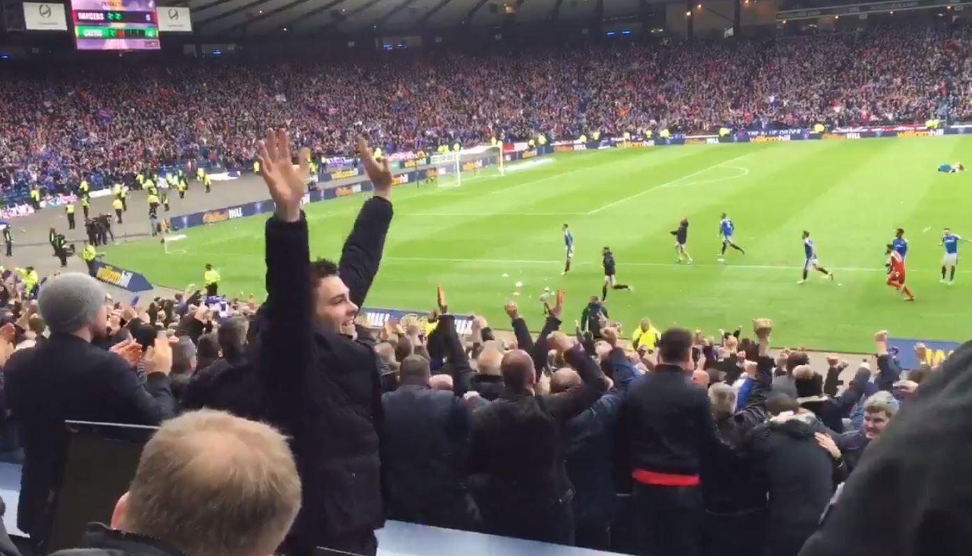 Celtic Glasgow gana la copa de Escocia