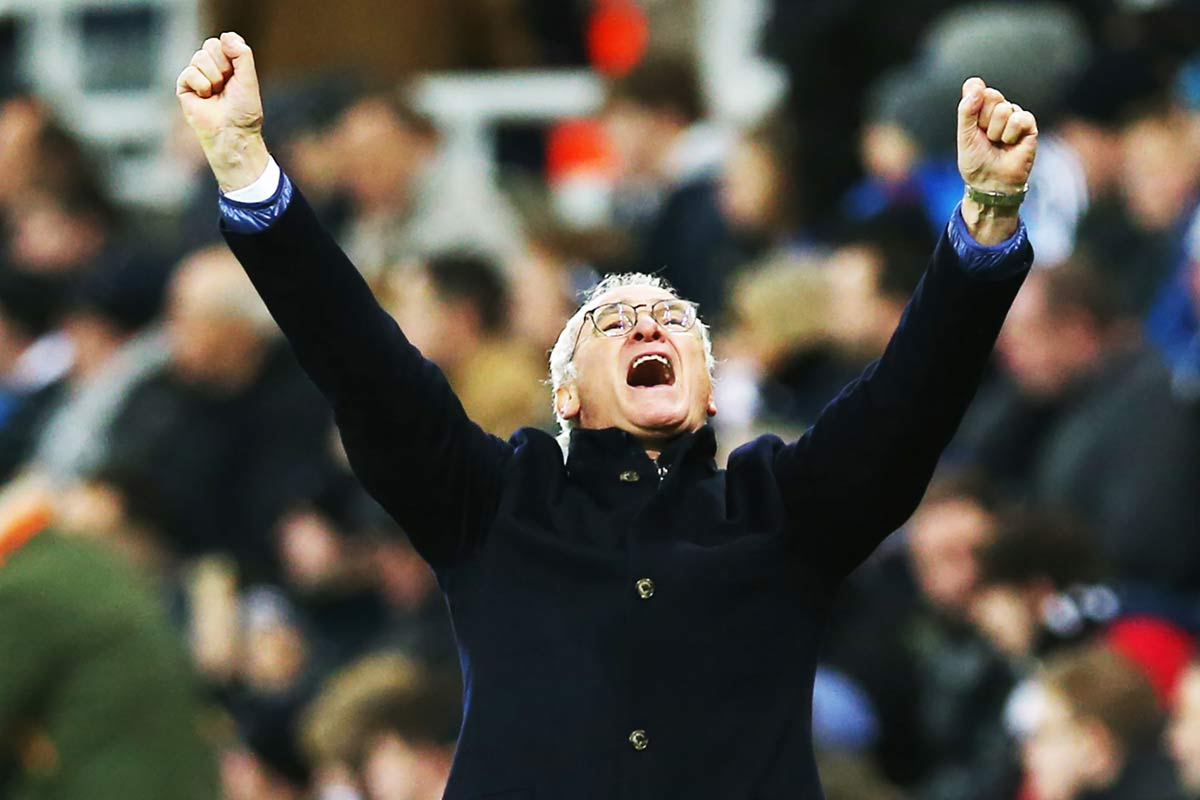 Claudio Ranieri, técnico del Leicester City