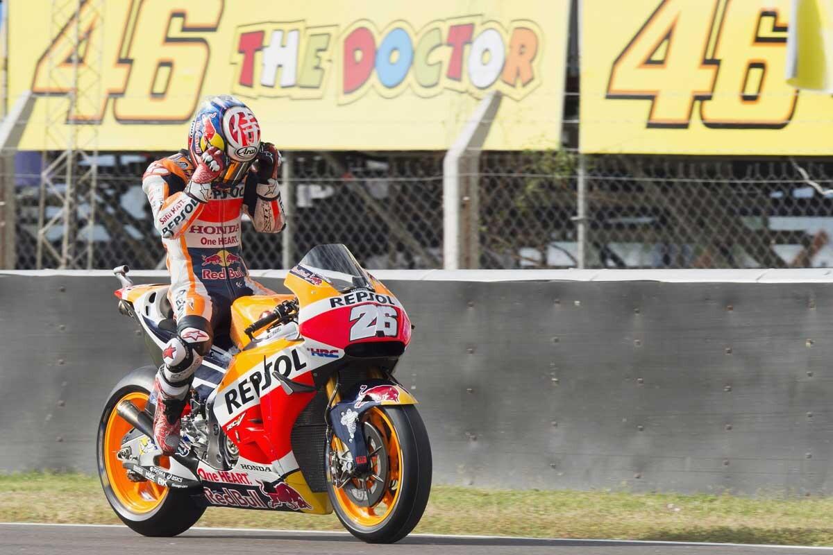 Dani Pedrosa, en el GP de Argentina