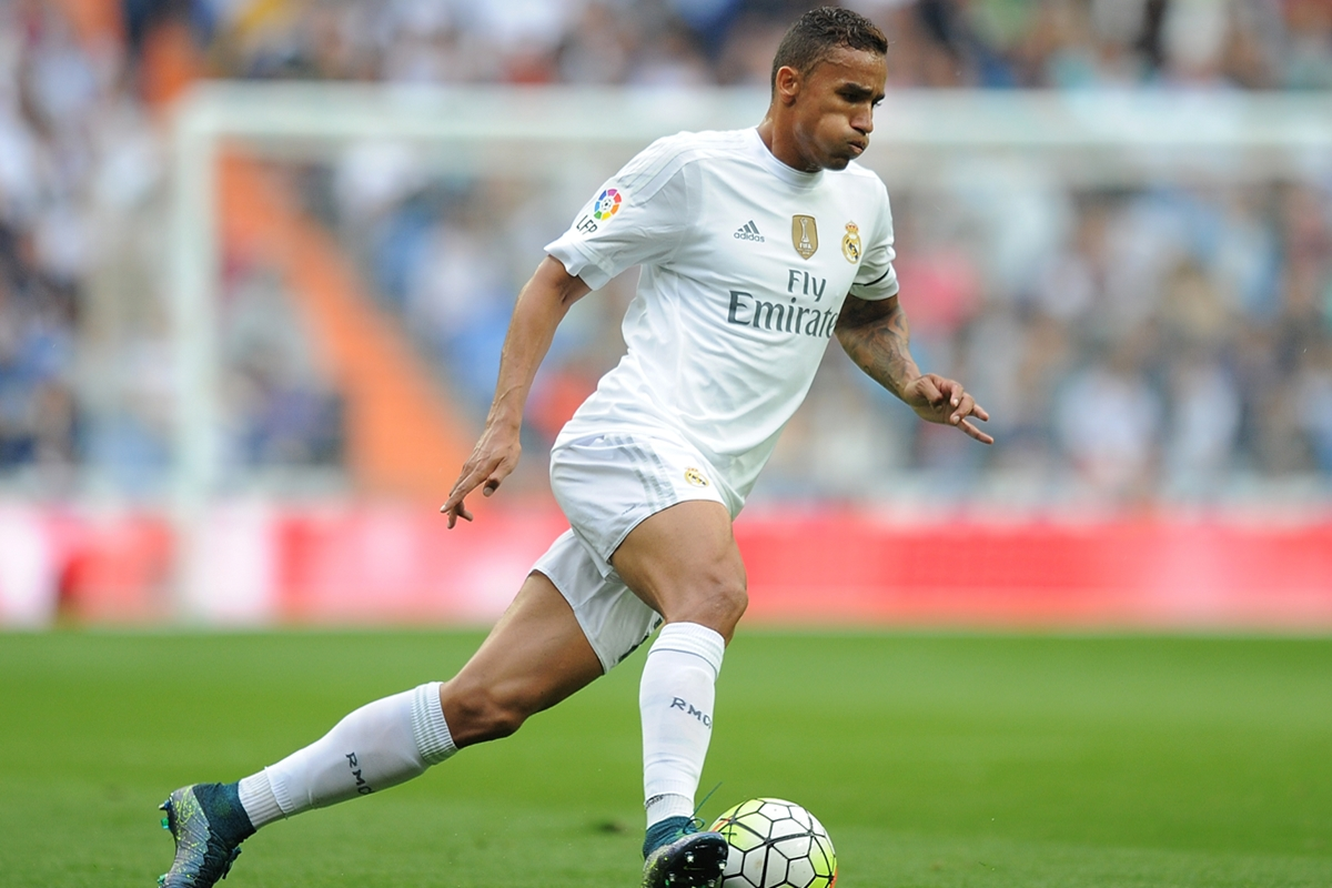 Danilo ha jugado 90 mnutos en todas las derrotas del Real Madrid