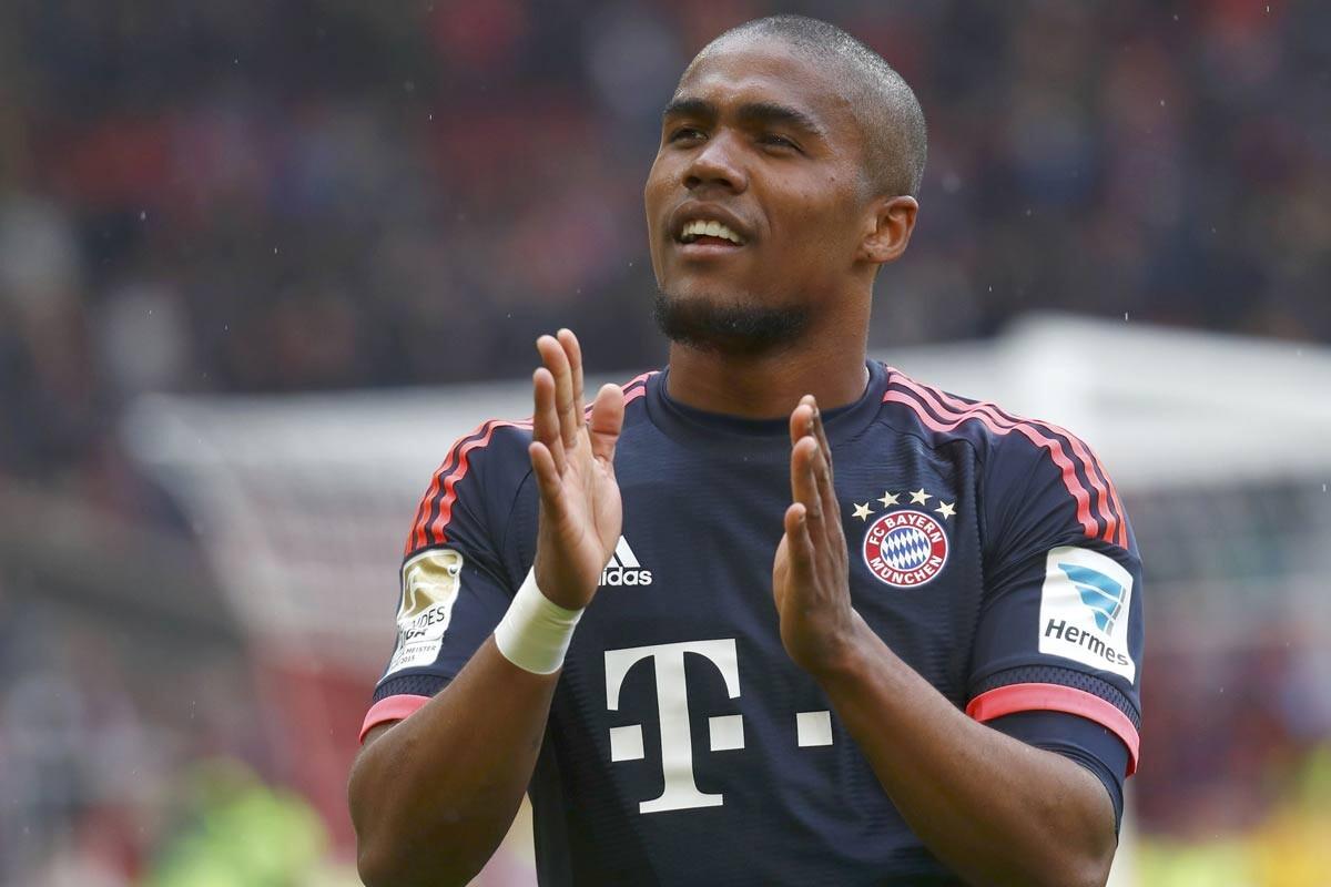 Douglas Costa, del Bayern Munich