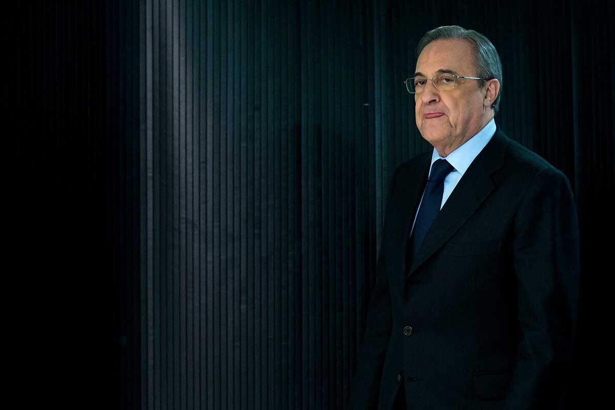 Florentino Pérez \'mimó\' a los jugadores tras la derrota en ...