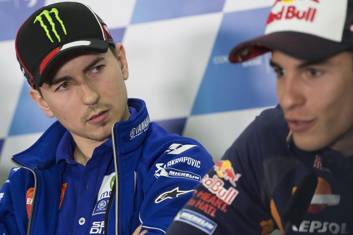 Jorge Lorenzo, rendido ante el talento de Márquez en el GP de las Américas en Austin