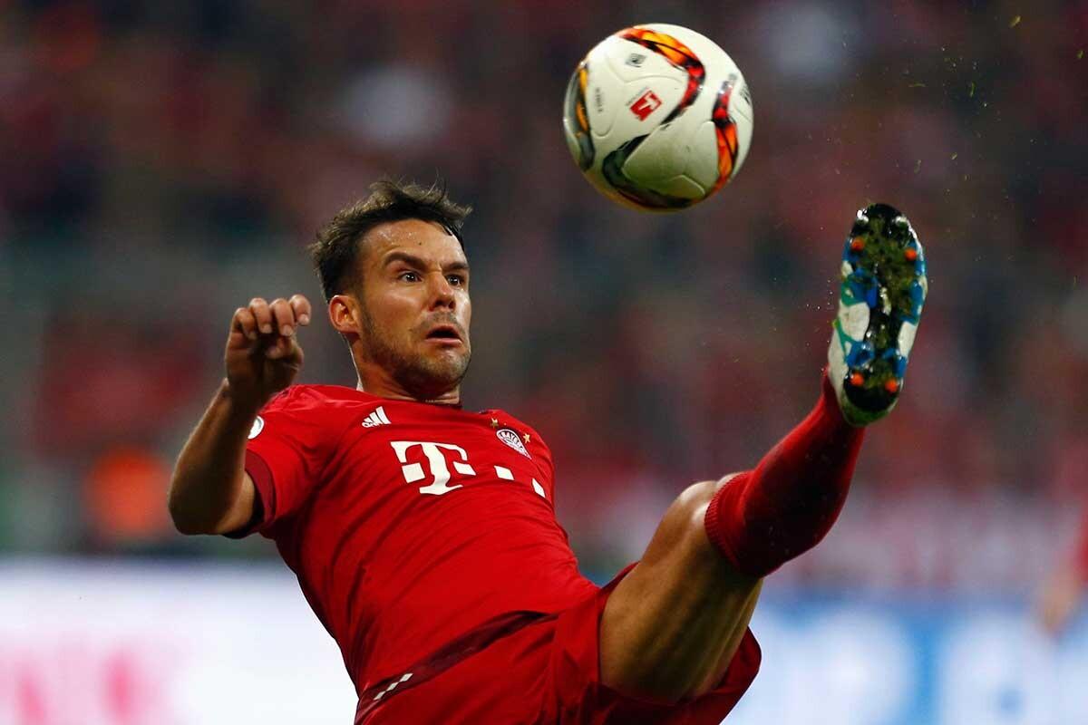 El jugador del Bayern calienta las horas previas al duelo ante el Atlético