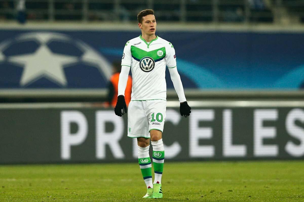 Julian Draxler, del Wolfsburgo