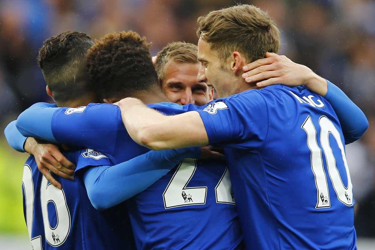 Jugadores del Leicester City