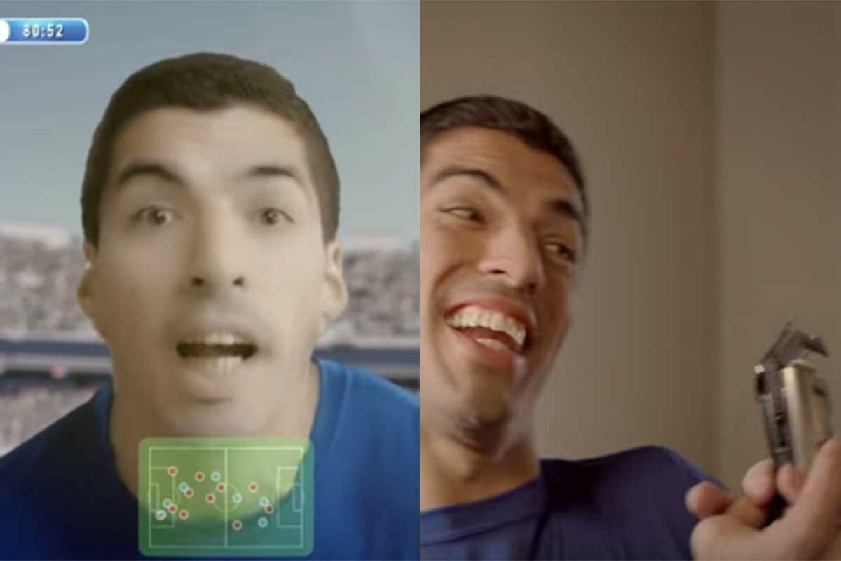 Participa en un anuncio de Pepsi